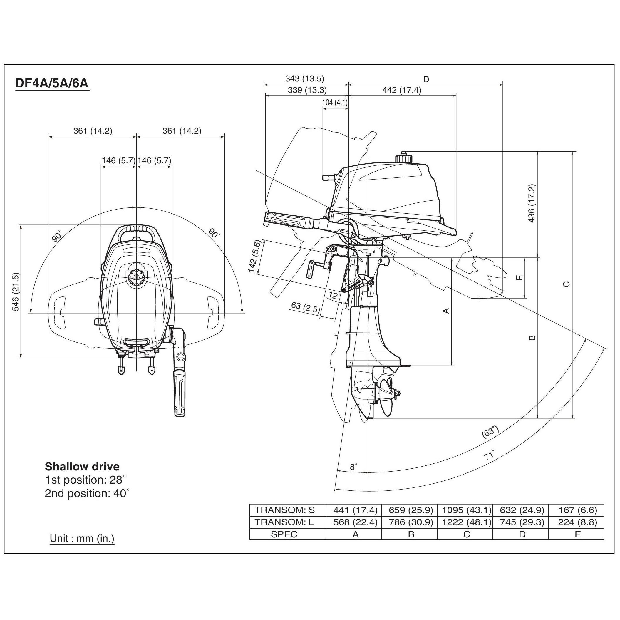 чертежи лодочных моторов suzuki